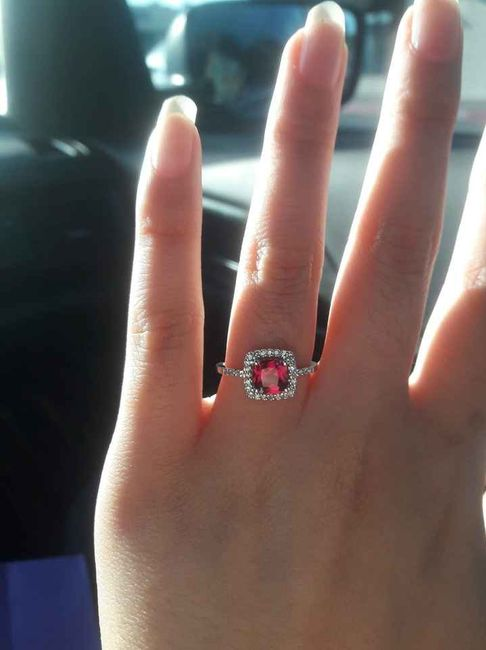 Can i start a new ring thread! Let's see that bling! 9