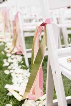 Ceremony decor with (no flowers, no arch) - 1