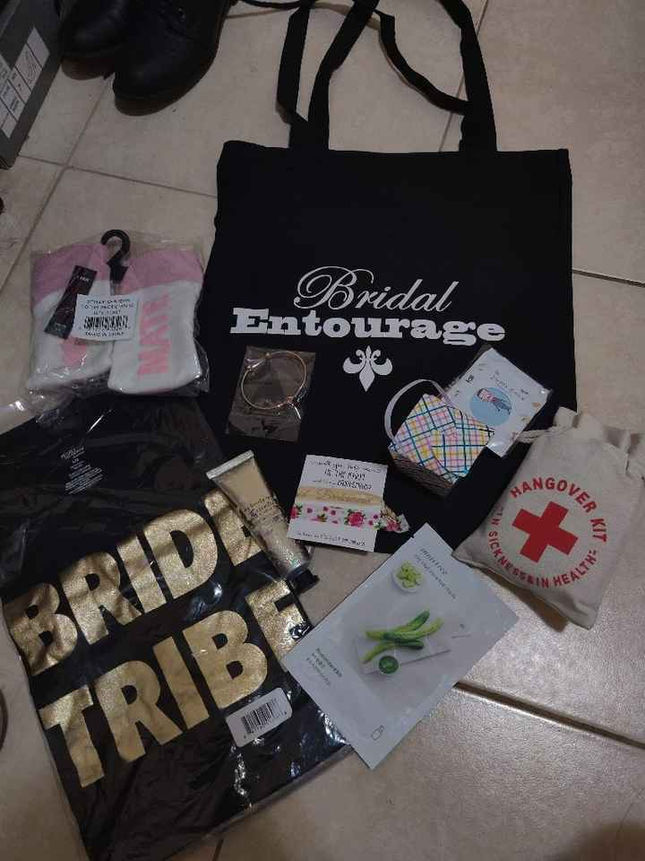 What did you get your bridal party? - 1