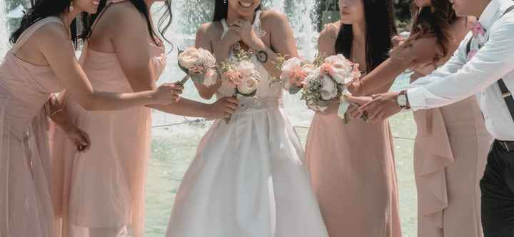 Mix & Match bridesmaid dresses - 1