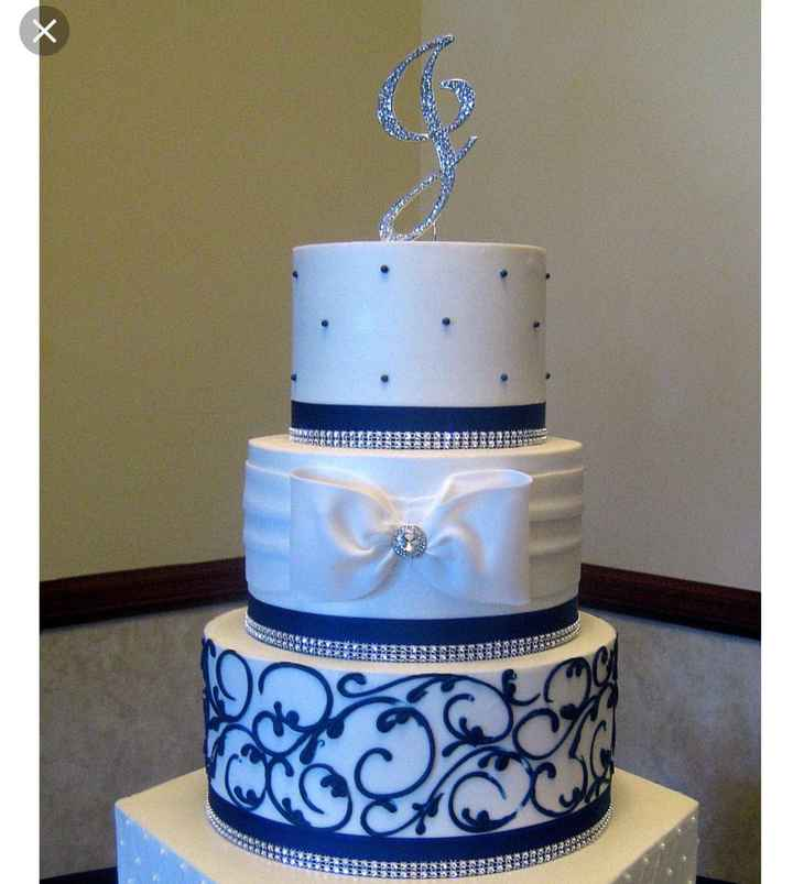 How many tiers does your cake have? - 1