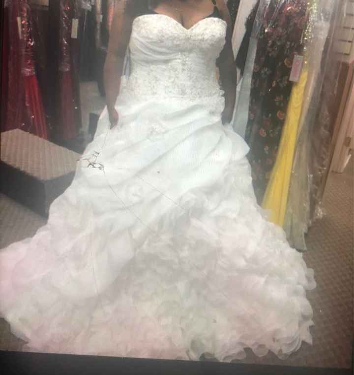 My wedding dress!! - 1
