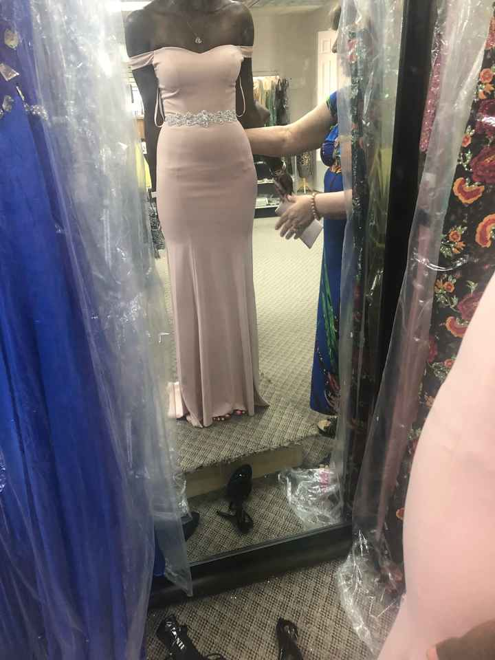 Bridesmaids fittings - 1