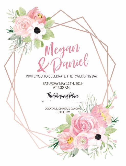 invitation I made