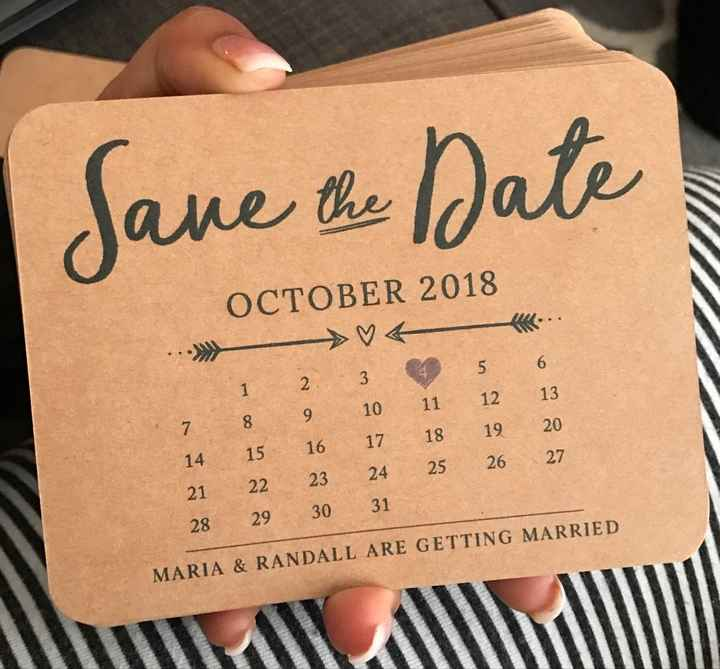 Lets see your no photo Save the dates