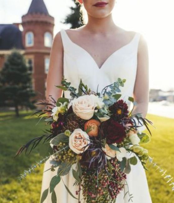 Bridal Bouquet: Color or White? 9