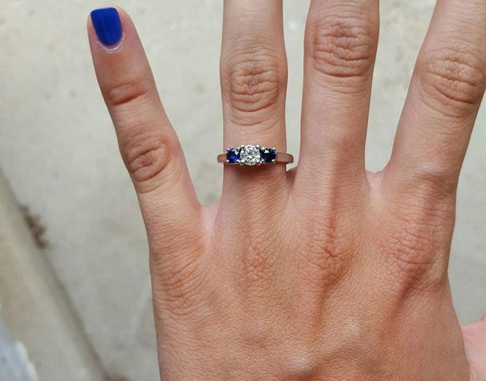 Who else has gemstones in their ring(s)?  Let's see them! 2