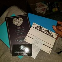 Invitations and rsvp cards - 1