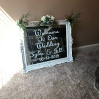 diy welcome sign - 1
