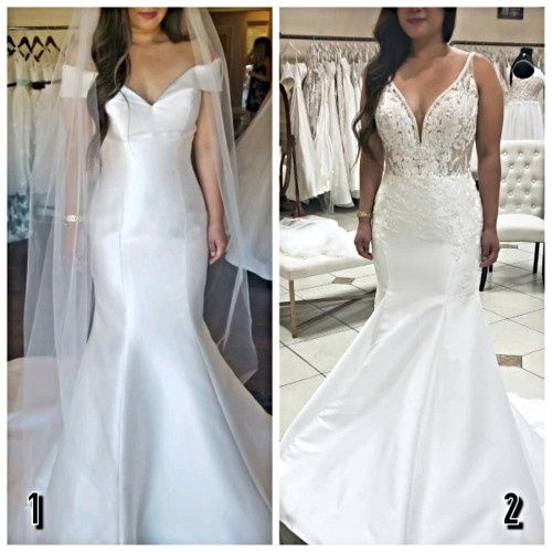 Did i say 'yes' to the (right) dress? 1