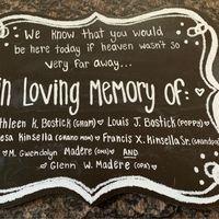 Memorial table question... - 1