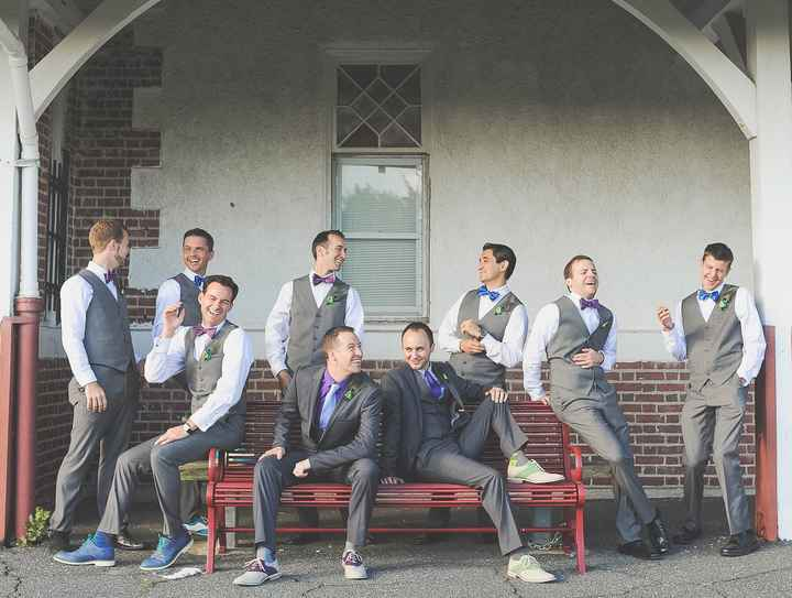 Am I going to regret telling my groomsmen to wear khaki pants and a white shirt of their own?