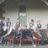 Anyone not having groomsmen in suits?