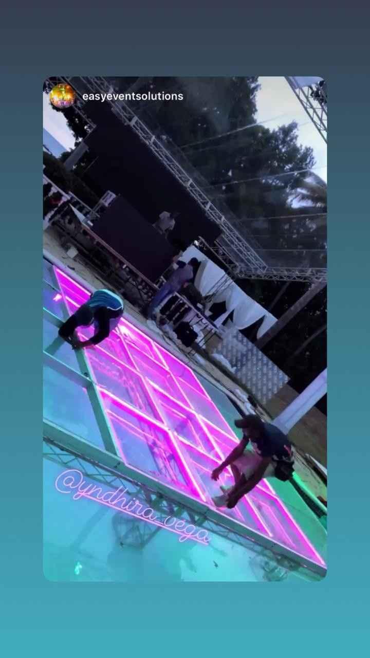 dance floor 16 x 20