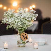 Are my center pieces too simple and boring??