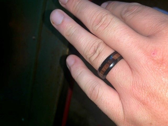 Wedding band for future hubby 3