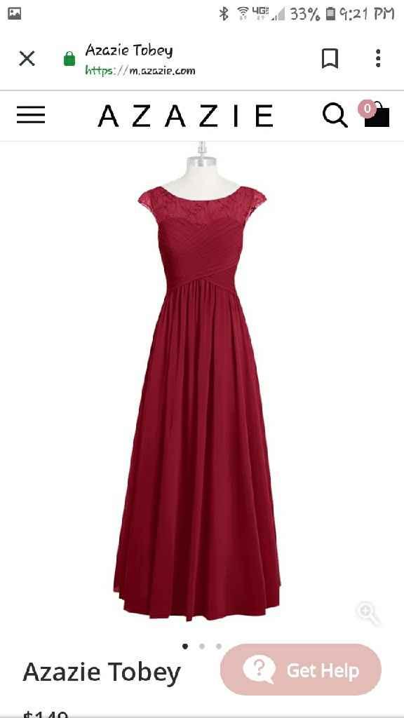 Bridesmaids dresses - 3