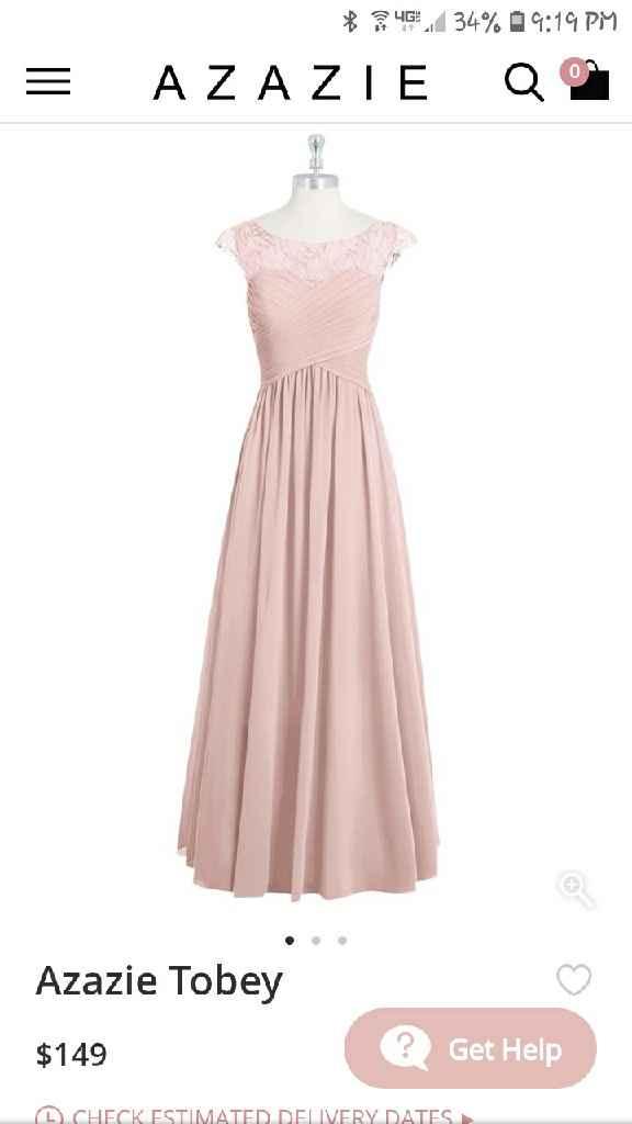 Bridesmaids dresses - 4
