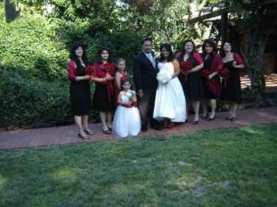 Bridal Party rental dress