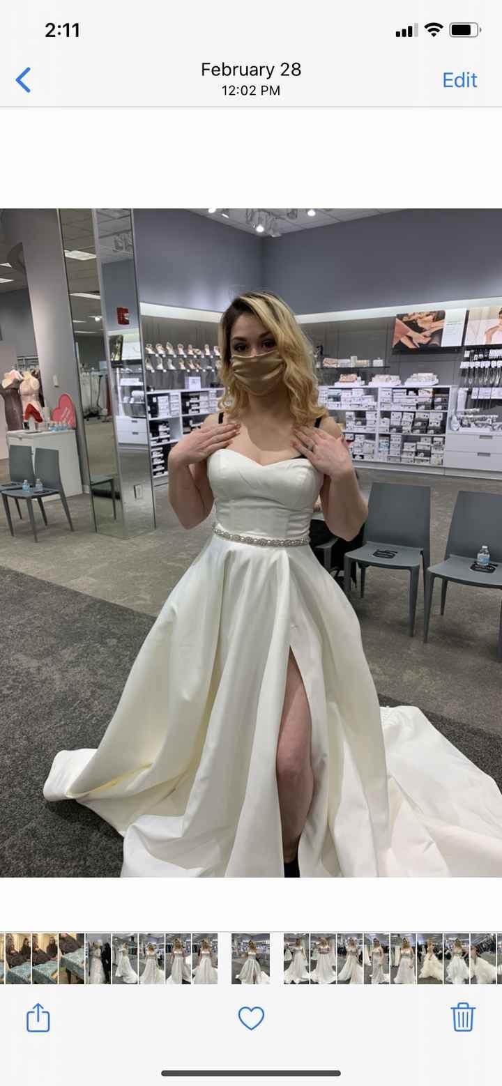 Still not happy with any dress 1