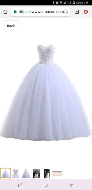 Second guessing my dress 2