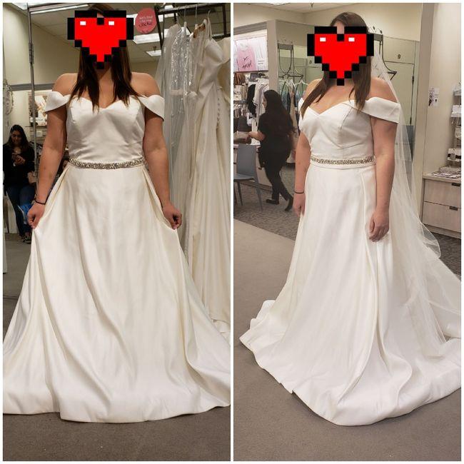 Torn between 2 dresses 1