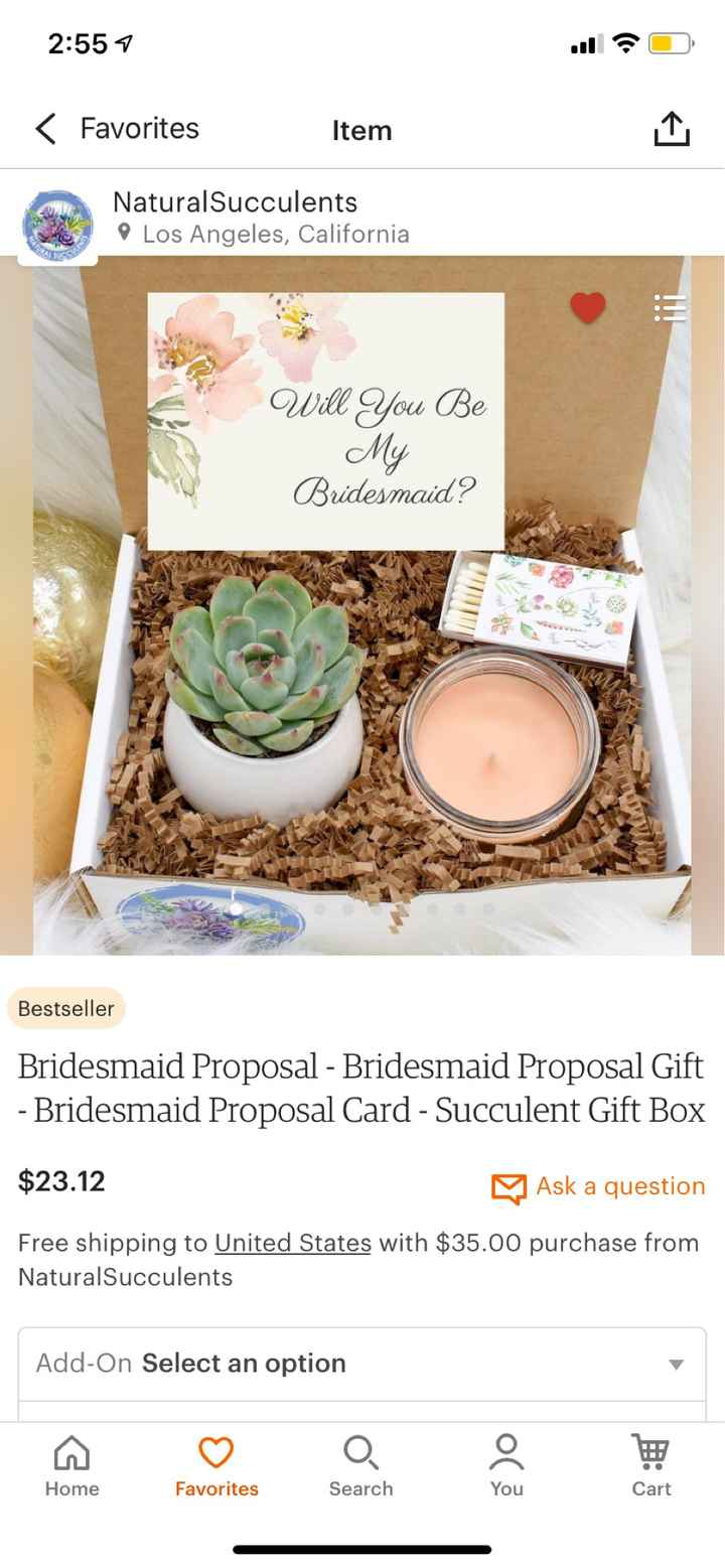 Bridesmaid Proposals - 1