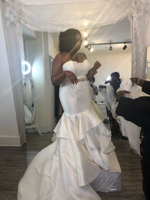 This is so Hard: Fiancè might not love my dress 1