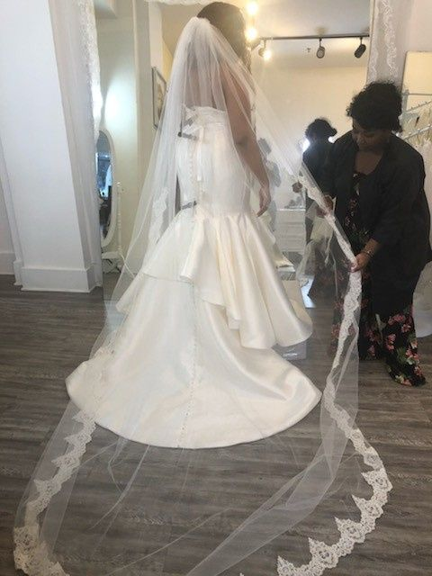 This is so Hard: Fiancè might not love my dress 3
