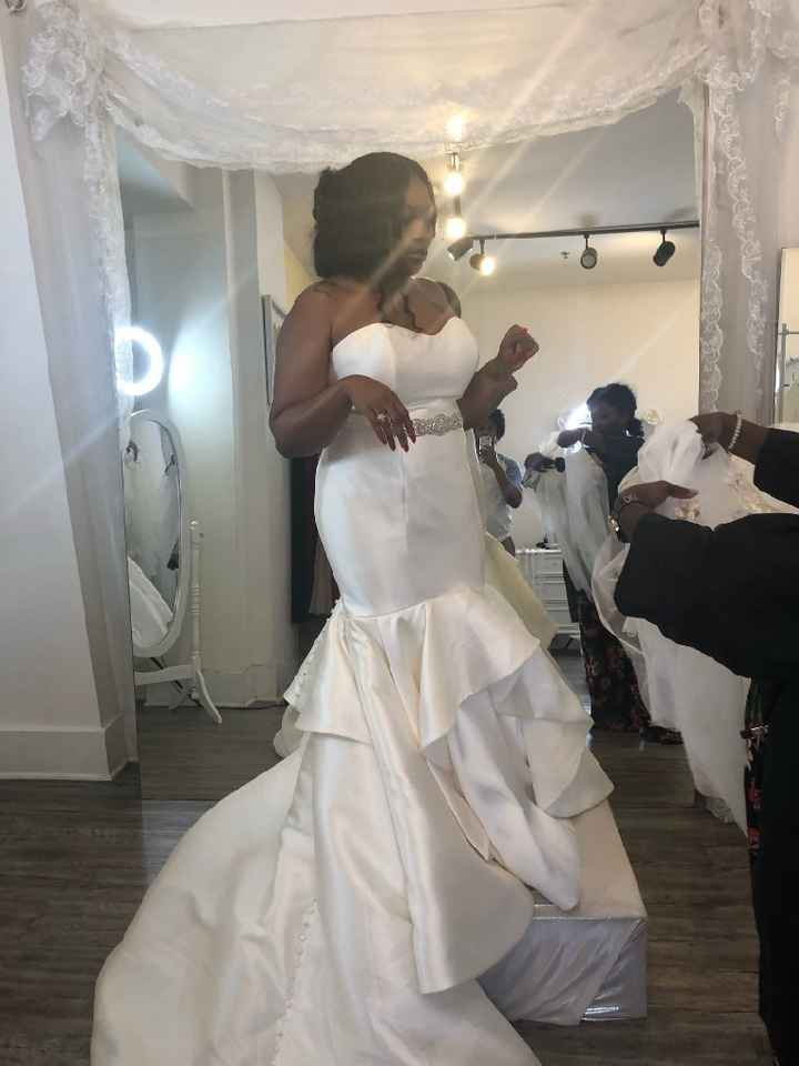 This is so Hard: Fiancè might not love my dress - 1