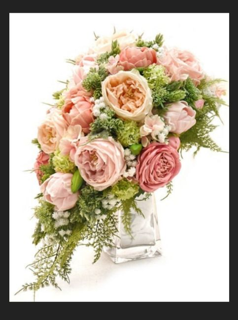 My 'real Touch' Wedding Bouquet 1