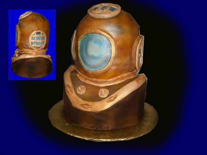 Groom's Cakes - 1