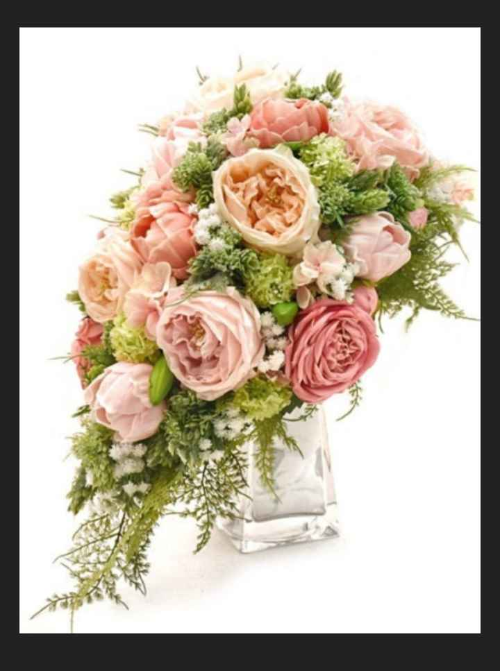My 'real Touch' Wedding Bouquet - 2