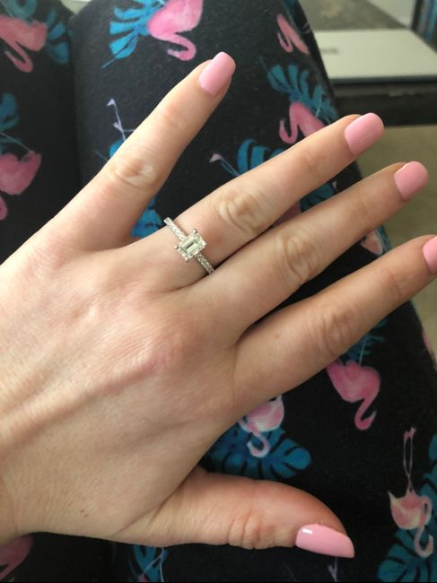 Show me your engagement ring! 14