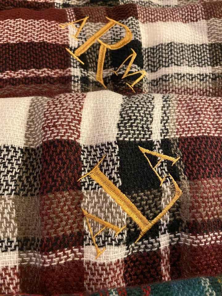 My bridal party shawls! - 1