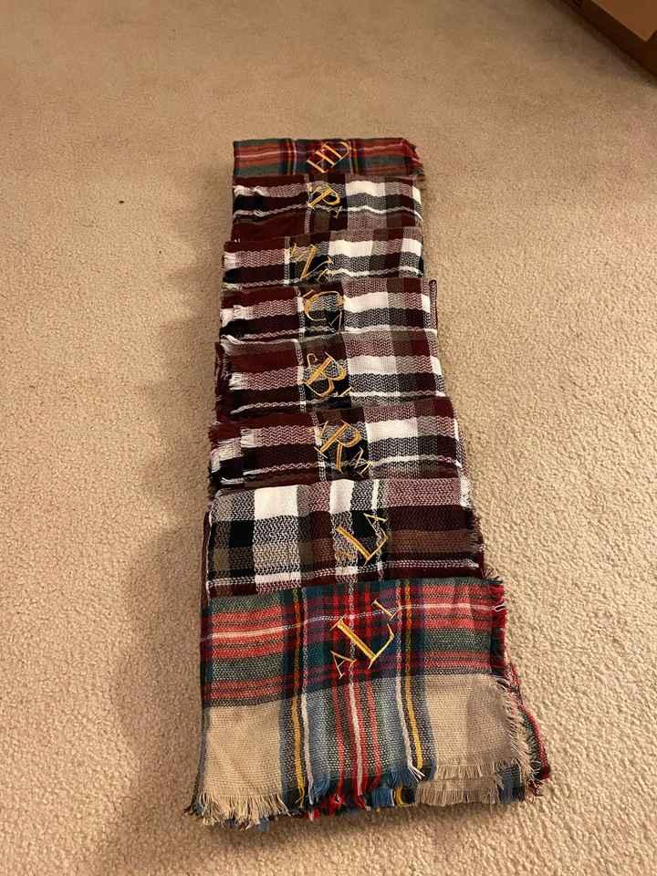 My bridal party shawls! - 2