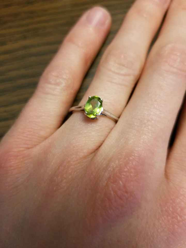 i want to see your engagement rings! 16