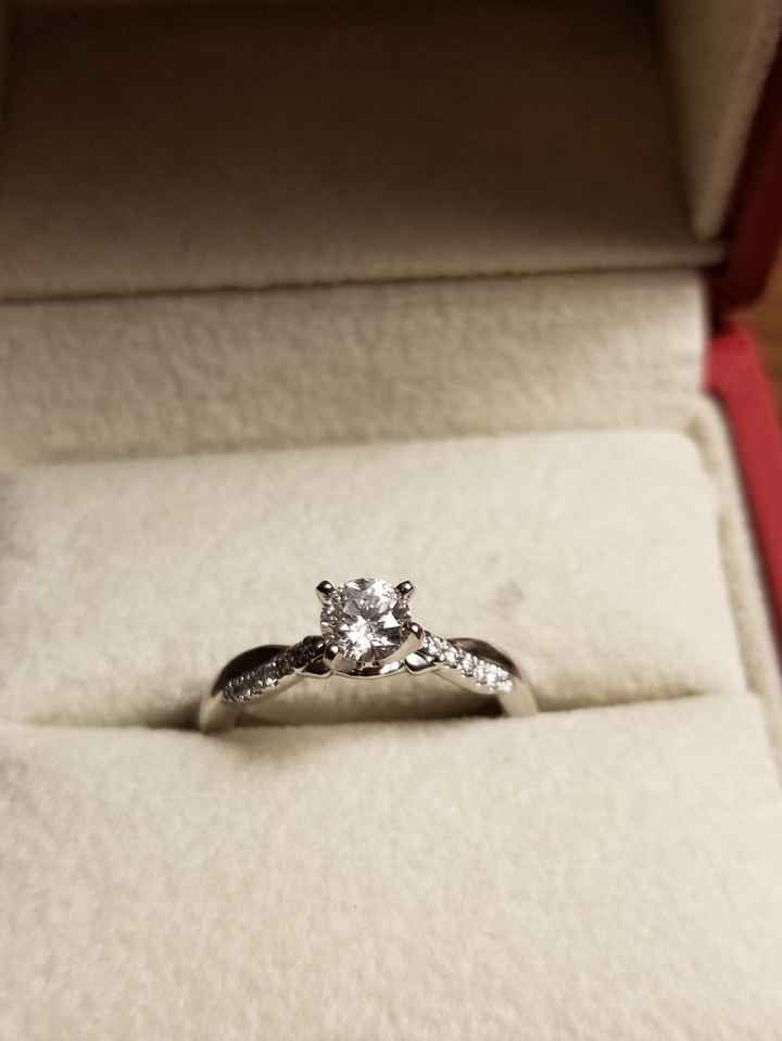 i want to see your engagement rings! 17