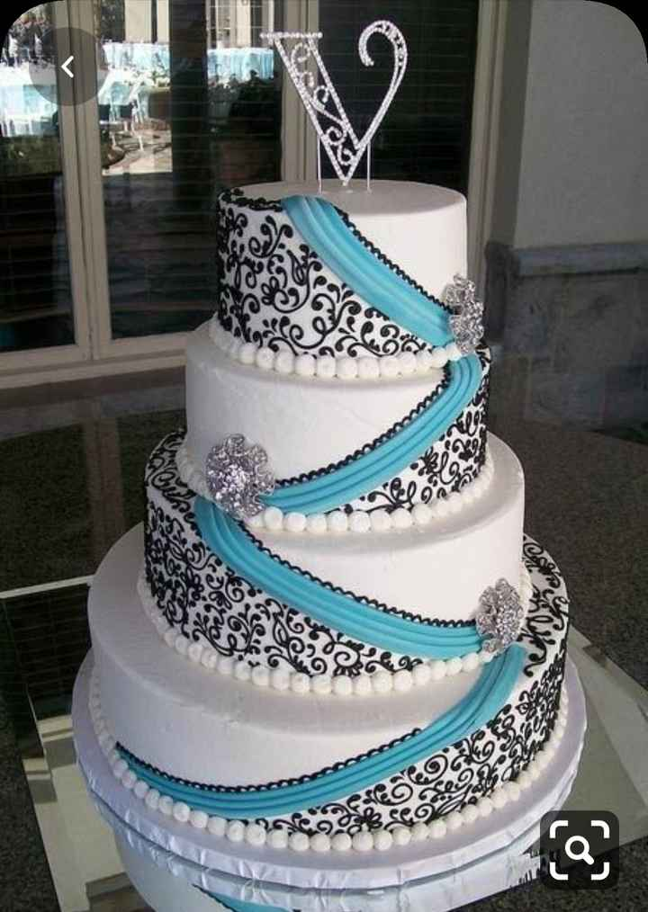Wedding Cakes Without Flowers 5