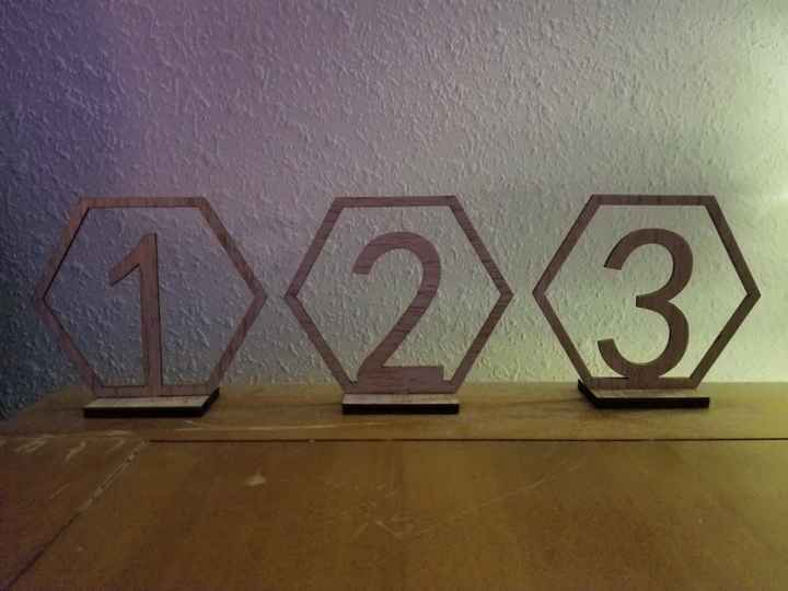 Show Me Your Table Numbers! 14