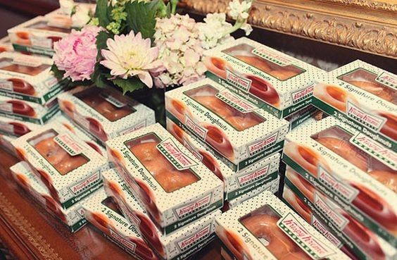 What do you think of Krispy Kreme Donuts as Favors? | Weddings ...