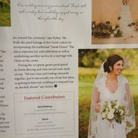PICTURES!!! Our wedding got picked for Carolina Bride Magazine!!!!