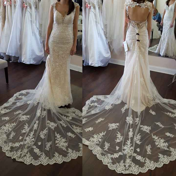 Let's see your lace wedding dresses!