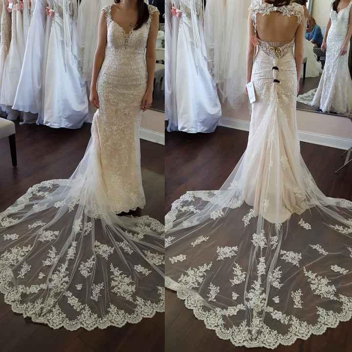 Ahhh my dress!