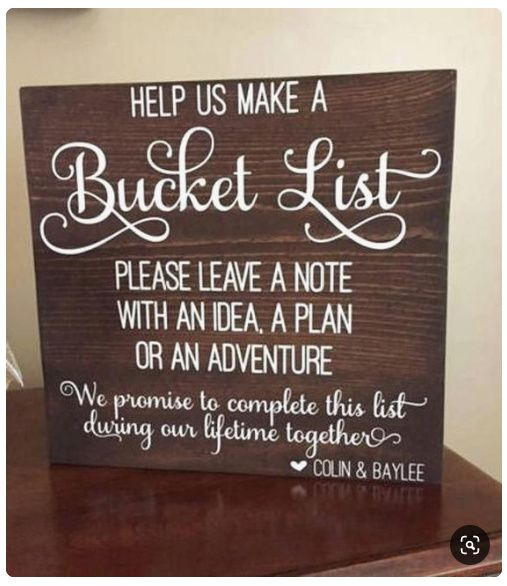 Help! Need creative ideas for a guest book. 8