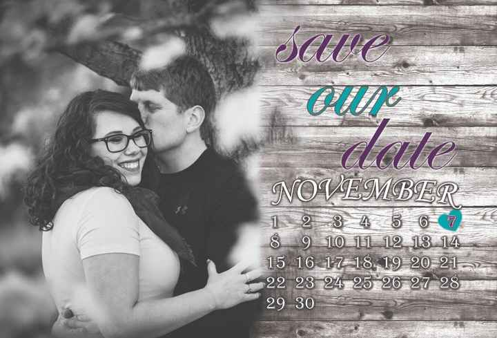Show me your save the dates!!! - 2