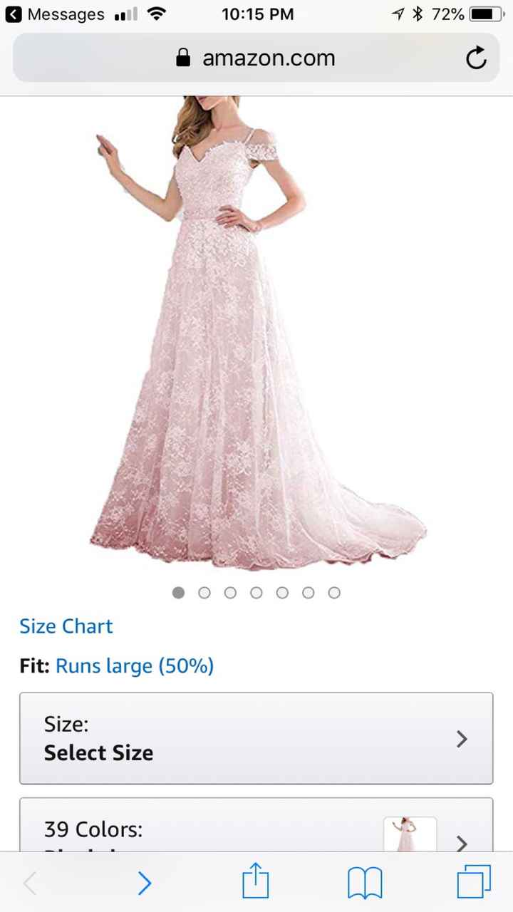 Nervous about ordering dress online - 1
