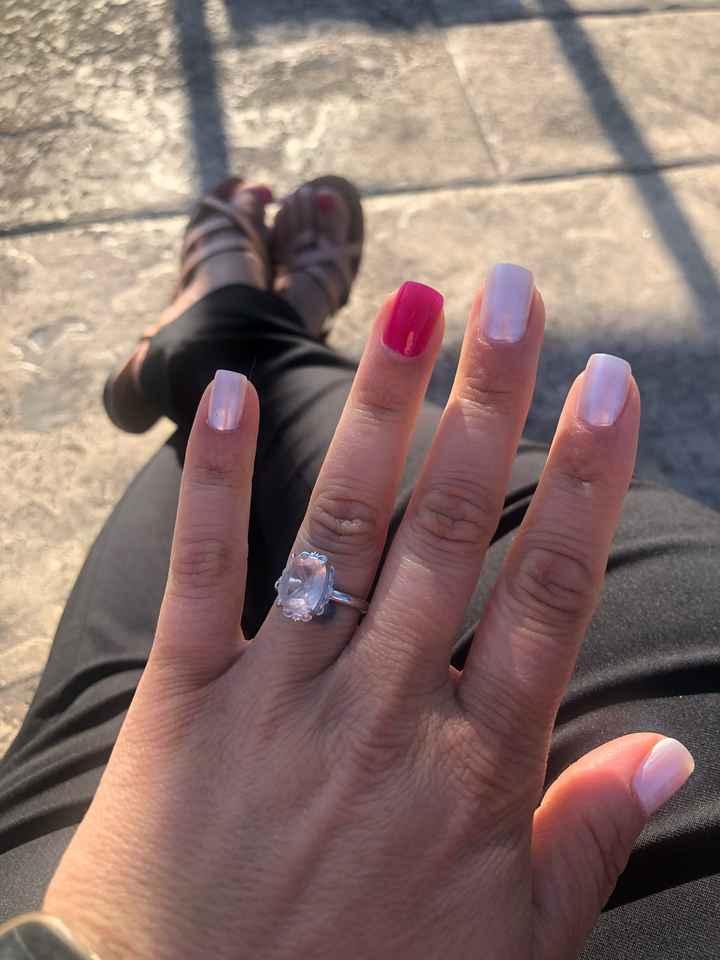 Diamond vs. gemstone vs. cubic zirconia - 1