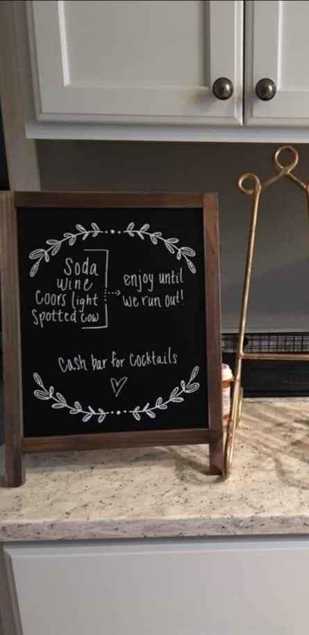 Bar sign wording - 1
