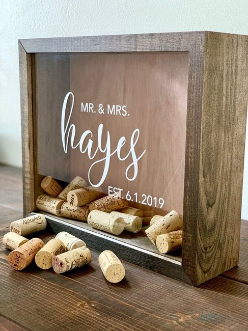 Help! Need creative ideas for a guest book. 10